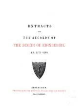 Extracts from the Records of the Burgh of Edinburgh: Index, a.d. 1403-1589, and a glossary of peculiar words