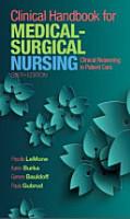 Clinical Handbook for Medical Surgical Nursing PDF