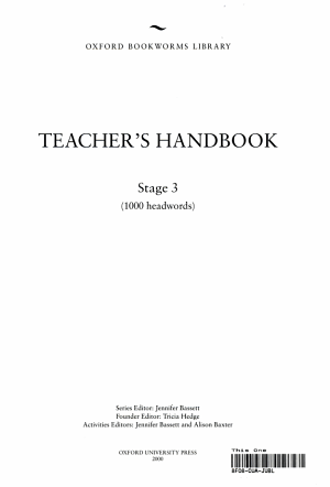 Bookworms Library Teacher s Handbooks