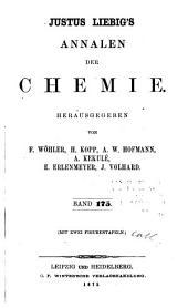 Justus Liebigs Annalen der Chemie: Bände 175-176