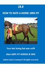 28.8 How to RATE A HORSE 100% FIT