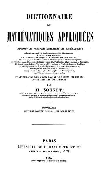 Download Dictionnaire des Math  matiques appliqu  es  etc Book