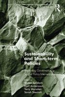 Sustainability and Short term Policies PDF