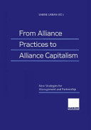 From Alliance Practices to Alliance Capitalism