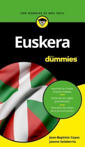 Euskera para Dummies