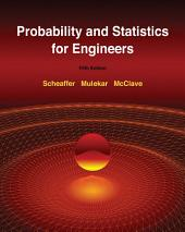 Probability and Statistics for Engineers: Edition 5
