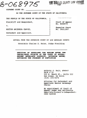 California. Supreme Court. Records and Briefs: S040086, Petition for Review