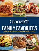 Crock Pot Family Favorites