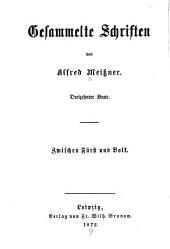 Bd. Zwischen Fürst und Volk