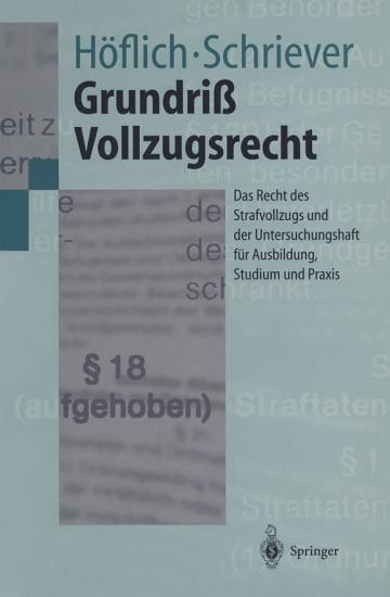 Grundri   Vollzugsrecht PDF