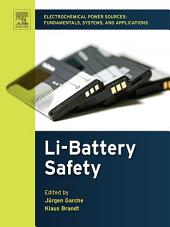 Safety of Lithium Batteries