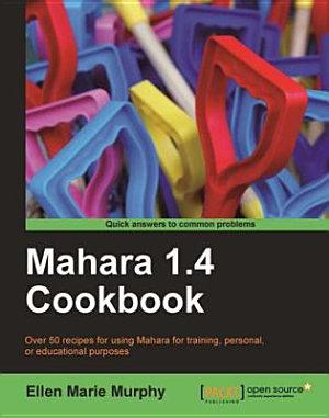 Mahara 1 4 Cookbook