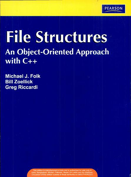 File Structures   An Object Oriented Approach with C    3 e PDF