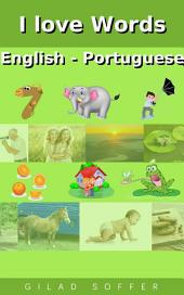 I love Words English - Portuguese