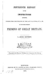 Reports from commissioners, inspectors and others: Volume 6