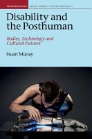 Disability and the Posthuman PDF