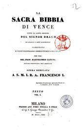 La Sacra Bibbia di Vence: Testo vol. 1, Volume 2