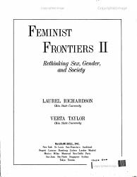 Feminist Frontiers Iii Book PDF