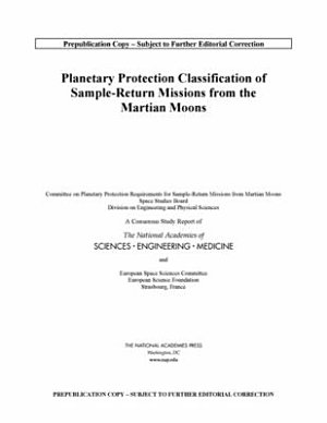 Planetary Protection Classification of Sample Return Missions from the Martian Moons