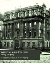 History of a Hundred Years, 1805-1905