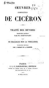 Oeuvres complètes de Cicéron: Traité des devoirs