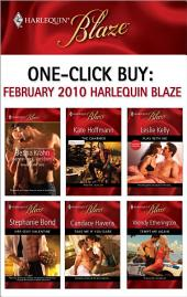 One-Click Buy: February 2010 Harlequin Blaze: The Charmer\Play with Me\Her Sexy Valentine\Take Me If You Dare\Tempt Me Again