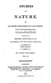 Studies of Nature: Volume 3