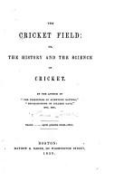 The Cricket Field PDF