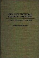 Our New National Security Strategy
