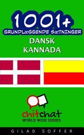 1001+ grundlæggende sætninger dansk - Kannada