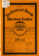 Technical Book Review Index PDF