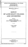 Survey of Land grant Colleges and Universities PDF