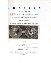 Travels to Discover the Source of the Nile, in the Years 1768, 1769, 1770, 1771, 1772, and 1773: In Five Volumes, Volume 5