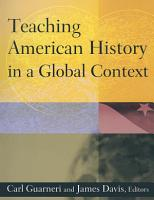 Teaching American History in a Global Context PDF