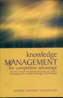 Knowledge Management For 1 Competitive Advantage PDF