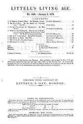 Littell's Living Age: Volume 112