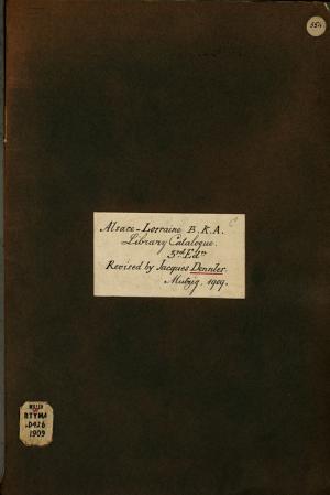 Katalog der B  cher und Schriften der Central bibliothek PDF