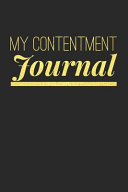 My Contentment Journal