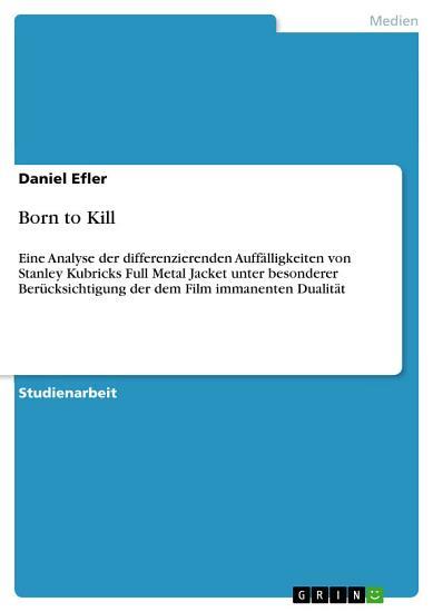 Born to Kill PDF