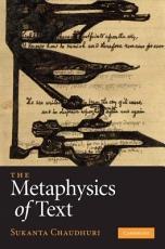 The Metaphysics of Text PDF