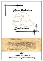 Acta Periodica Duellatorum  vol  6  issue 2  PDF