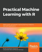 Practical Machine Learning with R PDF