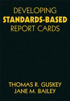 Developing Standards Based Report Cards PDF