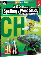 180 Days of Spelling and Word Study for Sixth Grade PDF
