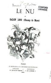 Le nu au Salon 1890