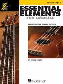 Essential Elements Ukulele Method Book 1 PDF