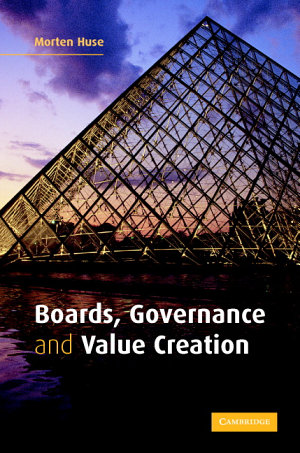 Boards  Governance and Value Creation