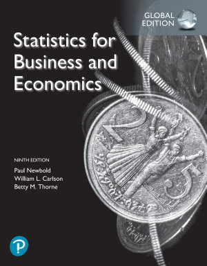 Statistics for Business and Economics  Ebook  Global Edition