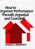 How to Improve Performance Through Appraisal and Coaching PDF