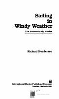 Sailing in Windy Weather PDF